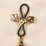 Leaves Clip On Nipple Rings Gold or Silver