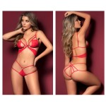 8449 Two Piece Set Color Red
