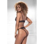 8473 Two Piece Set Color Black